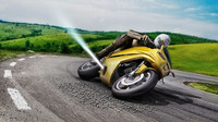Bosch pracuje na celé paletě bezpečnostních systémů, které mají chránit životy motorkářů