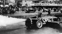 Fritz von Opel v experimentálním vozidle Opel RAK2