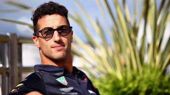Daniel Ricciardo v Monaku