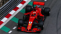Sebastian Vettel v tréninku v Monaku