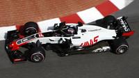 Romain Grosjean v tréninku v Monaku