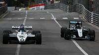 Nico a Keke Rosbergovi v Monaku