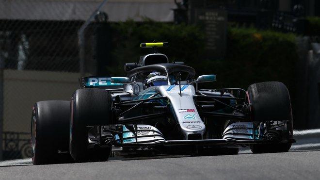 Valtteri Bottas hodnotí problémy Mercedesu v Monaku