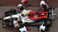 Monako nabídlo pestré strategie, nejrychlejší zastávkou potěšil Sauber domácího Leclerca - anotační foto
