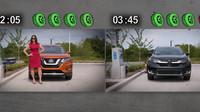 Díky novému systému Easy-Fill Tire Alert od Nissanu se stane dohušťování pneumatik hračkou