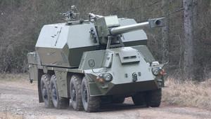 155mm Samohybná kanonová houfnice ZUZANA 2