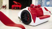 Stylová sedačka v designu Lamborghini Murcielago