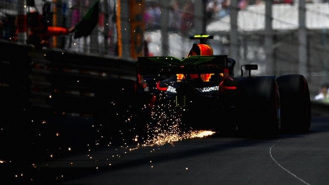 Jiskry za Red Bullem Maxe Verstappena
