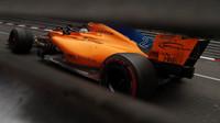 Stoffel Vandoorne s McLarenem MCL33 v Monaku