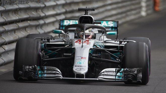 Lewis Hamiltons v Monaku