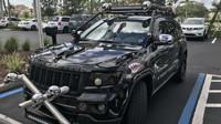 Majitel se na svém Jeepu Grand Chrokee opravdu vyřádil - v nejhorším slova smylu