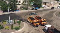 Zásah ukrajinské policie se během chvíle změnil v grotesku