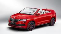 Letošní žákovský koncepční vůz se jmenuje Škoda Sunroq. Jméno bylo vybráno z několika set návrhů zaslaných zákazníky a fanoušky značky Škoda na sociálních sítích.
