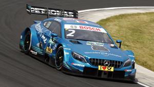 Zandvoort: Mercedes opanoval závod se čtyřmi vozy, Paffett slaví vítězství - anotační obrázek