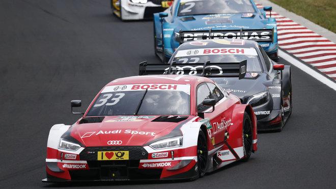 René Rast získal první vítězství sezony pro Audi