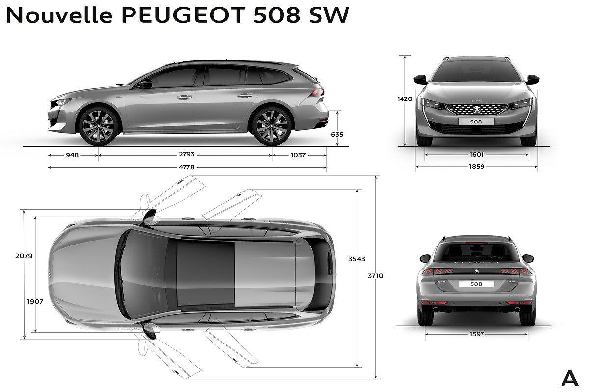 Nový Peugeot 508 SW