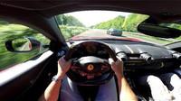 Ferrari 812 Superfast 320 km/h on Autobahn!