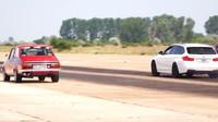 Upravená Dacia potrápila výkonné BMW