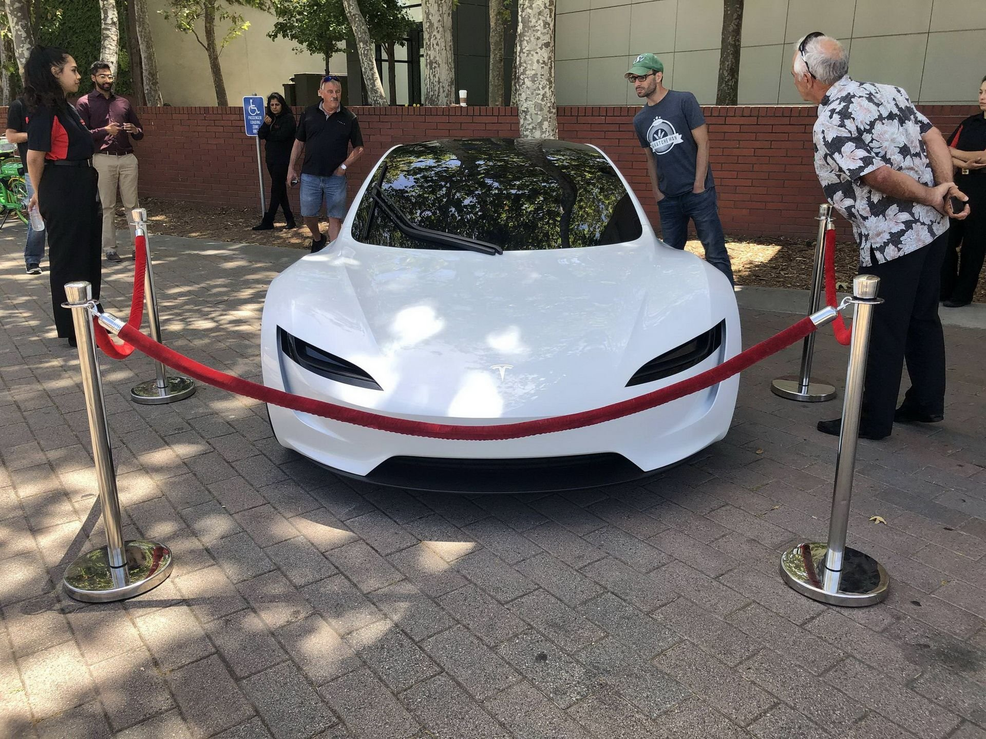 Nový prototyp Tesla Roadsteru