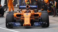 Stoffel Vandoorne s McLarenem MCL33 v Kanadě