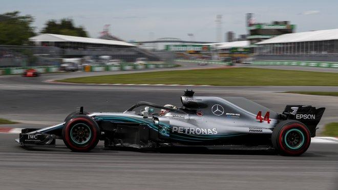 Lewis Hamilton měl v Kanadě se svým motorem potíže