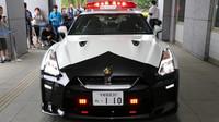 Japonská policie obdržela darem sportovní Nissan GT-R