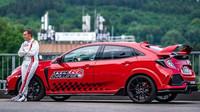 Honda Civic Type R stanovila rekordní čas na dalším světoznámém okruhu