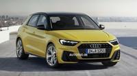 Nová generace Audi A1? Automobilka neuhlídala oficiální snímky, tady jsou - anotační foto