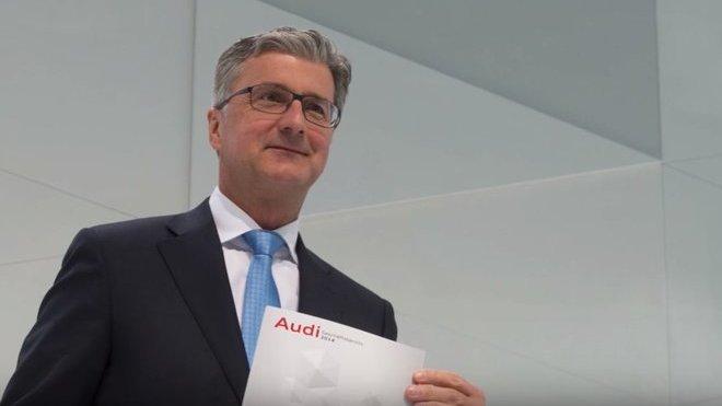 Rupert Stadler, předseda představenstva automobilky Audi, skončil kvůli kauze Dieselgate ve vazbě