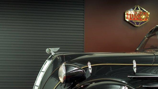 Toyoda AA replika