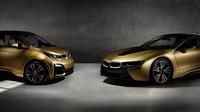 """Exkluzivní česká edice """"zlatých"""" vozů BMW i8 a BMW i3 STARLIGHT bude vydražena na dobročinné účely nadace Dagmar a Václava Havlových VIZE 97."""