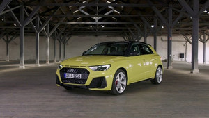Nová Audi A1 na detailních záběrech