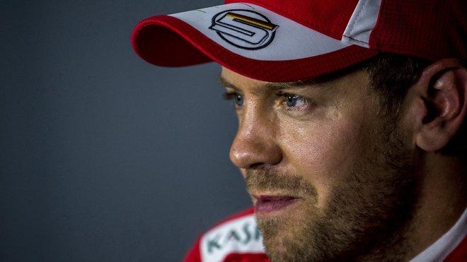 Sebastian Vettel byl jedním ze zlých mužů závodu