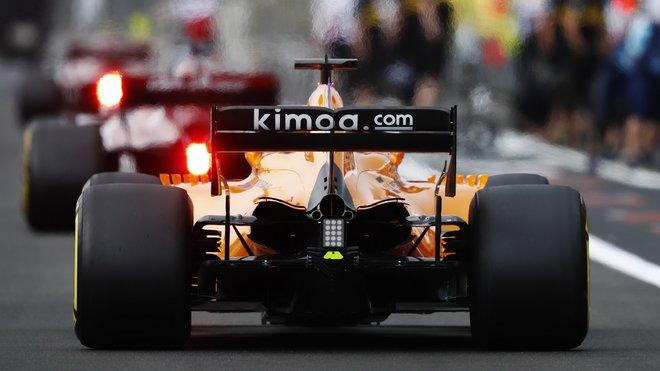 V McLarenu to vře nejen kvůli čokoládovým tyčinkám