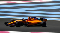 Fernando Alonso v kvalifikaci ve Francii