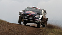 M-Sport testuje ve finských lesích novou aerodynamiku Fiesty WRC - anotační obrázek