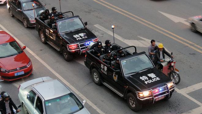 Changfeng Liebao Parade car
