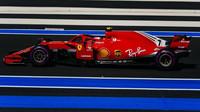 Kimi Räikkönen v závodě ve Francii