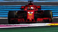 Sebastian Vettel v závodě ve Francii
