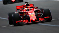 Sebastian Vettel v kvalifikaci ve Francii