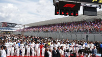 Slavnostní zahájení závodu ve Francii