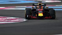 Daniel Ricciardo v kvalifikaci ve Francii