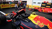 Max Verstappen po závodě ve Francii