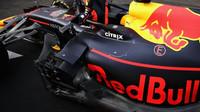 Detail vozu Red Bull po závodě ve Francii