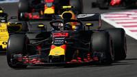 Max Verstappen v závodě ve Francii