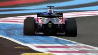 Brendon Hartley v kvalifikaci ve Francii