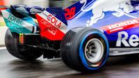 Toro Rosso za deště v sobotním tréninku ve Francii