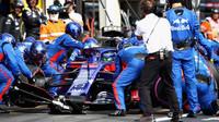 Brendon Hartley v závodě ve Francii