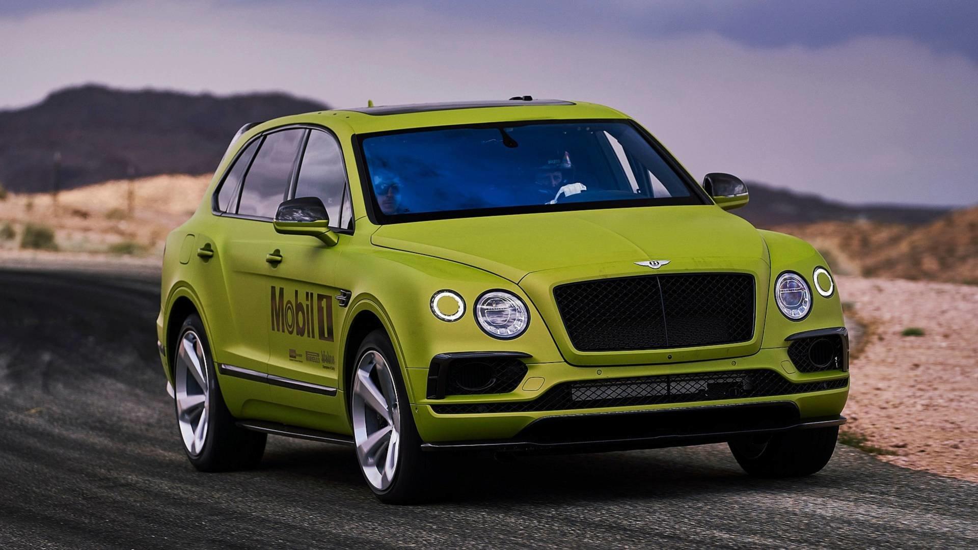 Bentley Bentayga je mimo jiné i nejrychlejším sériovým SUV, které pokořilo závody Pikes Peak
