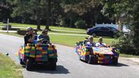 Lego-vozítka slavila mezi lidmi úspěch, policisté z nich však příliš nadšení nebyli